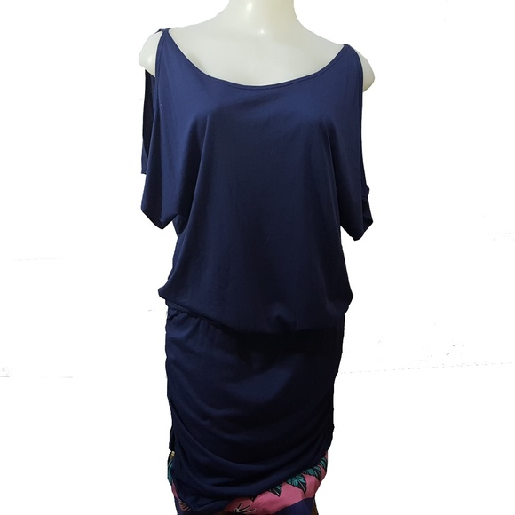 e5b8cbcc15dd2b Anthropologie Dresses   Skirts - Anthropologie Michael Stars Cold Shoulder  Ruched